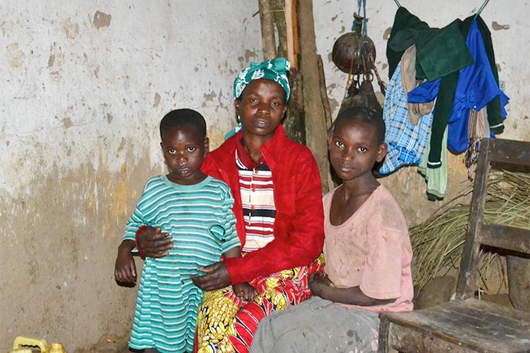 バンダ村家族の写真